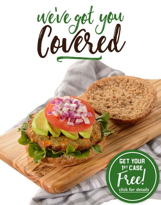 Introducing NEW Veggie Patties from Harvest Creations